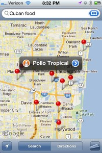 Local Search Optimization by VizRED - Pollo Tropical